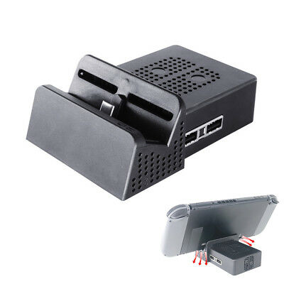 Portable Dock Station Mount Case Stand Base for Nintendo Switch Console