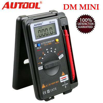 AUTOOL Mini VC921 3/4 DMM AD/DC Digital Multimeter Tester Autoranging 4000 Count