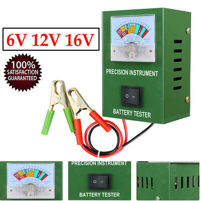 BT-50B Battery Load Tester Engine 2-250Amp Quickly Tester Within 6V 12V 16V Car