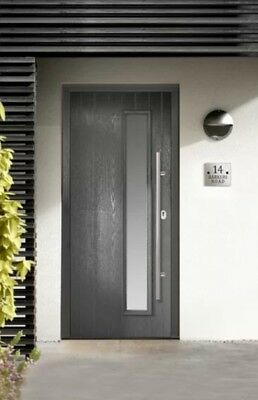 FRONT DOORS - GRP Composite - Hung in PVC frame - Various styles and ...