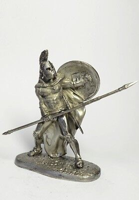 Tin soldier, figure. King of Sparta, Leonid. 60 mm