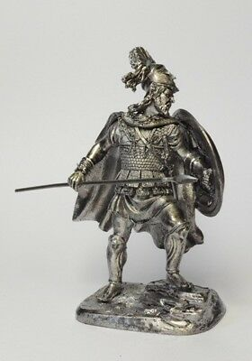 Tin soldier, figure. Leonid I the king of Sparta 60 mm