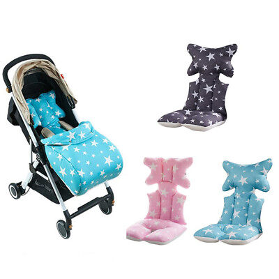 UK Baby Stroller Buggy Pram Pushchair Liner Cover Mat Car Seat Chair Cushion M/S