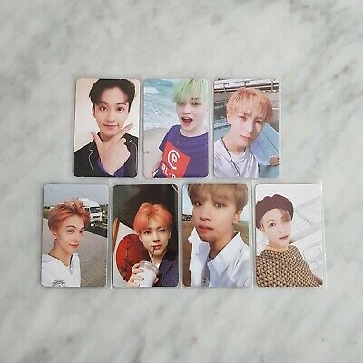 NCT 2nd mini Album - WE GO UP Official Photocard - Member Set