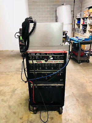 Lincoln Squarewave 275 Ac/dc Tig Welder Water Cooled