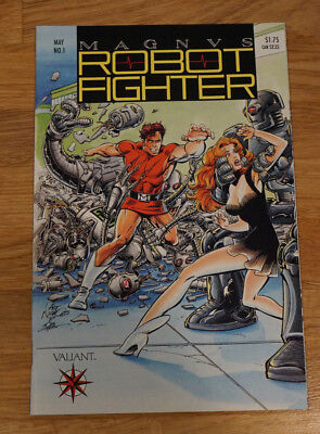 MAGNUS Robot Fighter 1 (Valiant 1991) NM- to NM Cards Intact