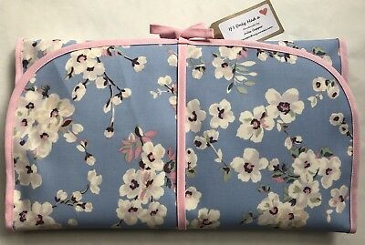 Cath Kidston Wellesley Blossom Oilcloth Handmade Baby Travel Changing Mat