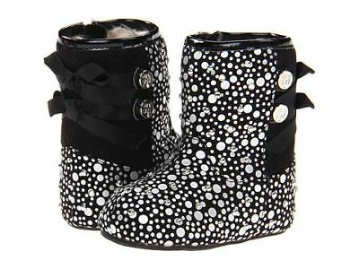 Stuart Weitzman Baby Girls Pali Boots Studs Size 2 US - Pre-owned - Like New