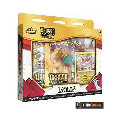 Pokemon Latias Dragon Majesty Pin Collection - Booster Packs, Promo TCG Cards