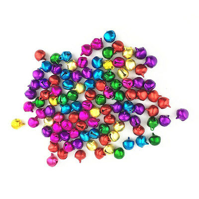 50PCS random color Craft Kits And Supplies Christmas Jingle Bells /Small Be T9N3