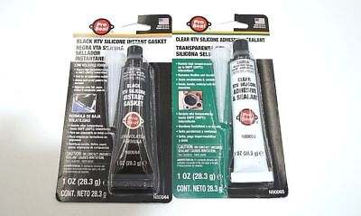 Pro Seal Black RTV Silicone N80044 OR PRO-SEAL-N80065-CLEAR-SILICONE-WATERPROO