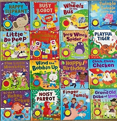 baby/Kids sound books & Baby bath books