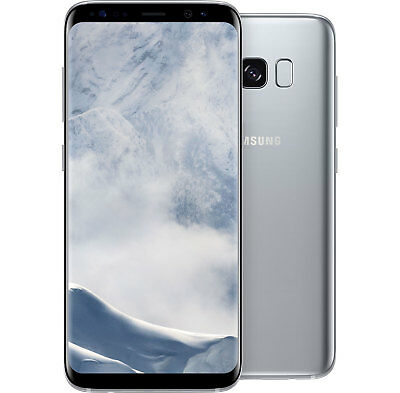 Samsung Galaxy S8 Plus G955F (Unlocked) Gsm - Orchid Gray 64Gb Smartphone