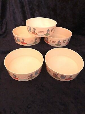Vintage Classic Holly Hobbie / Coca-Cola Collectible Series Bowls Set Of 5