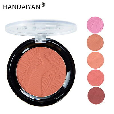 6 Color Matte Blush Rouge Brightening Complexion Nude Makeup Repair Powder GIFT