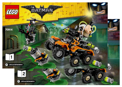 Bane Attack Super Instruction70914Neuf Truck New Notice Lego Heroes Toxic pSzMqUVG