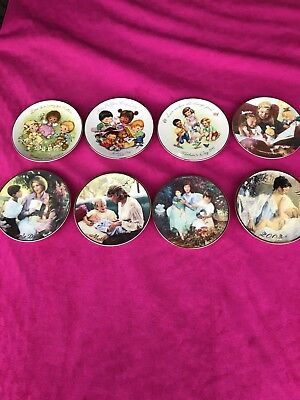 """Avon Mothers Day Plates 5"""" Great Gift Idea"""