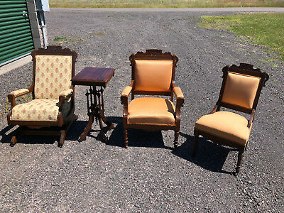 EASTLAKE set 3 chairs and table