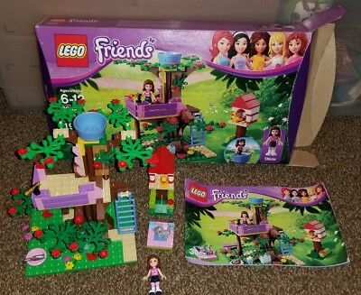 Lego Friends 3065 Olivias Tree House 99 Complete W Box Manuals