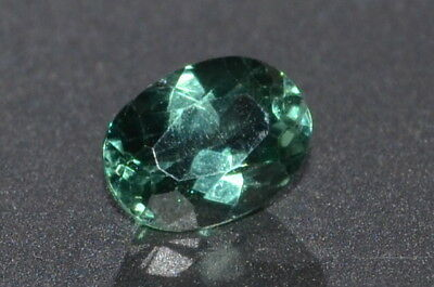 Beautiful AAA 0.68ct Brazilian Green Untreated Natural Oval Apatite Gemstone
