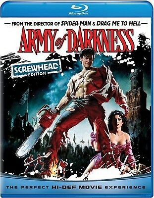 NEW BLU-RAY - ARMY OF DARKNESS -Bruce Campbell, Embeth Davidtz, Marcus Gilbert,