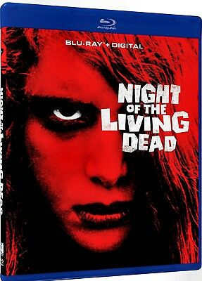 New  Blu-Ray - Night Of The Living Dead - George A Romero - 50Th Anniversary -