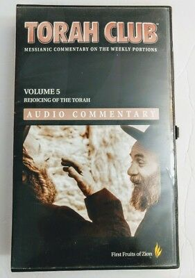 FFOZ First Fruits of Zion TORAH CLUB Audio Commentary CD Complete Set Vol. 5 1.0