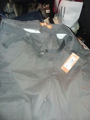 40cd2070a5 Lee Mens Big-Tall Dungarees Belted Wyoming Cargo Short- Pick SZ/Color.