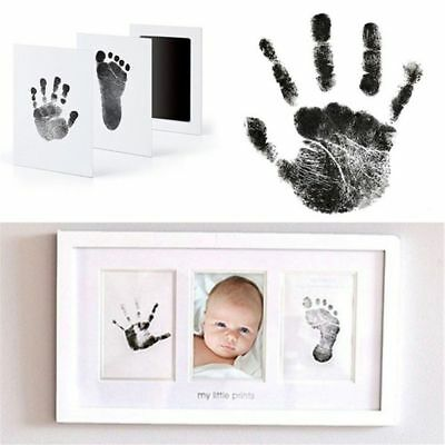 Baby Paw Print Pad Foot print Photo Frame Touch Ink Pad Baby Item Souvenir Gift