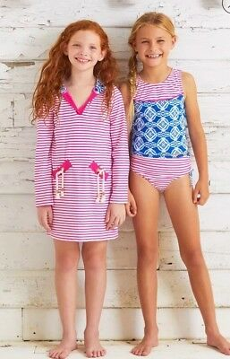 Girls Cabana Life Tankini + Cover Up Bathing Suit Set - Size 3T Kids