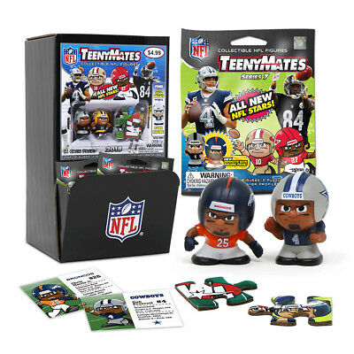 NFL Series 7 Player Specific Teenymates 32 New Unopened Packages W Gravity Fill