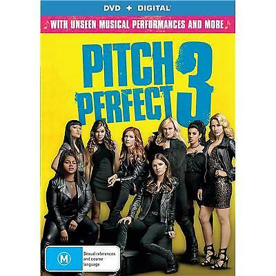 Pitch Perfect 3 Dvd, New & Sealed, Region 4, 2018 Release, Free Post