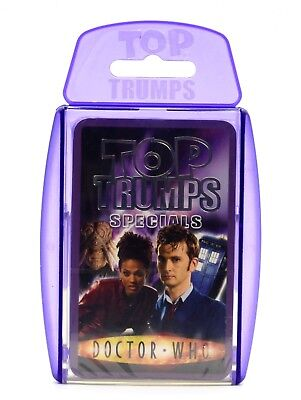 Doctor Dr. Who - Top Trumps Special Purple Edition Card Game