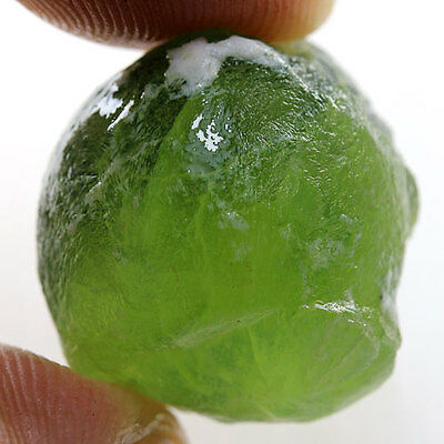 41.50 Ct.Green Prehnite Rough Natural Gemstone Unheated Africa Free Shipping !!