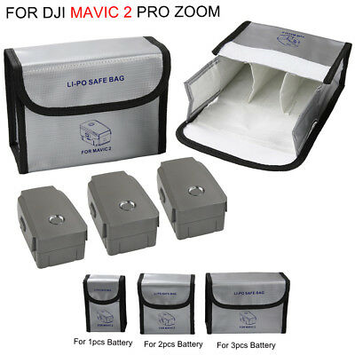 Explosion proof Battery Safety Storage Bag Protective for DJI MAVIC 2 PRO Zoom