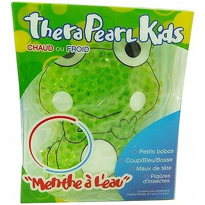 THERAPEARL Kids Coussin Thermique Grenouille Taille 8,9cm x 11,4cm