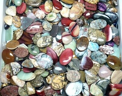 500Cts. Per Lot Wholesale Natural Cabochon Mix Shape Gemstone 2929