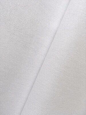 White 32 count Zweigart Murano evenweave fabric 100 x 70 cm