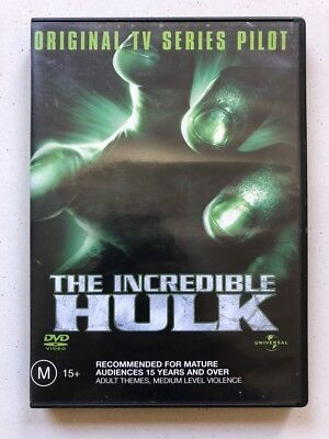 The Incredible Hulk  - Original TV Series Pilot (DVD, 2003) Region 4