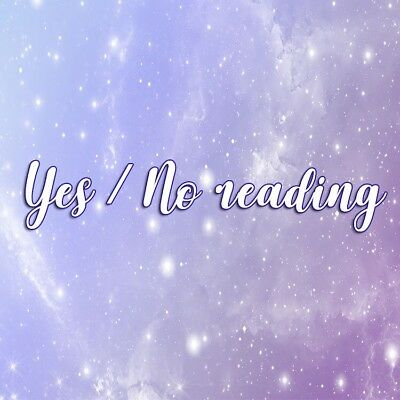 """""""Yes"""" Or """"No"""" Love reading 💖 Read Product Description"""