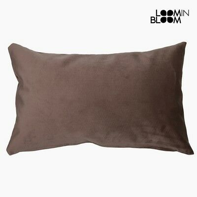 Cuscino Poliestere Marrone (30 x 50 x 10 cm) by Loom In Bloom I0010_S0107199