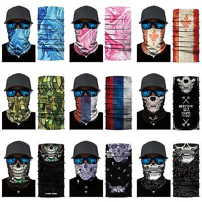 BU_ Unisex Cool Multifunction Ski Sport Motorcycle Cycling Face Mask Scarf Cleve