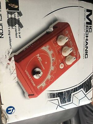 TC Helicon Mic Mechanic Vocal Reverb & Delay