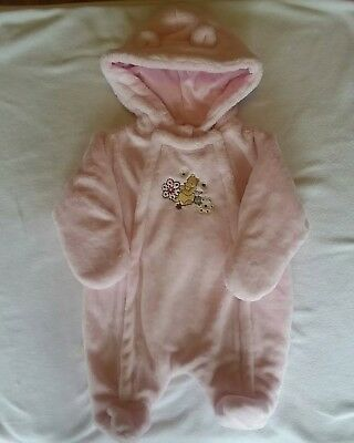 Disney Winnie The Pooh Newborn Girl Warm Winter Suit/Outerwear