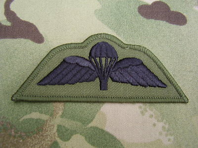 Parachute Regiment/Airborne Combat Jacket/Shirt OG Para Wings Sew On Patch/Badge