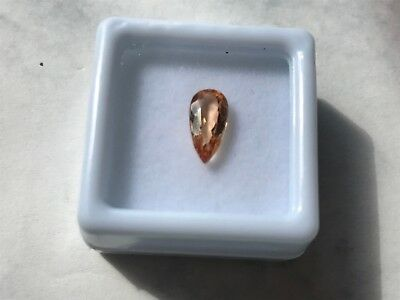 Imperial Topas, ca. 1,48 ct., lupenrein