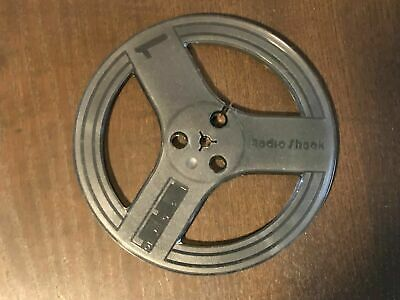 """Vintage 7-Inch Take-Up Tape Reel Empty reel-to-reel Clear Plastic 1/4"""" (Qty )"""