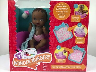 Little Mommy Wonder Nursery Doll 9""