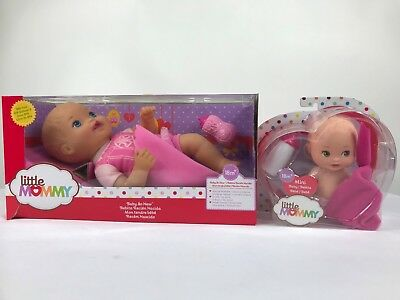 little mommy baby so new darling dancer baby doll & mini baby       LOT OF 2
