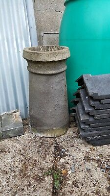Antique Genuine Reclaimed Chimney Pot. Ideal For Garden Planter.or Refit